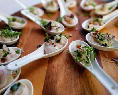 Corporate Catering canape function