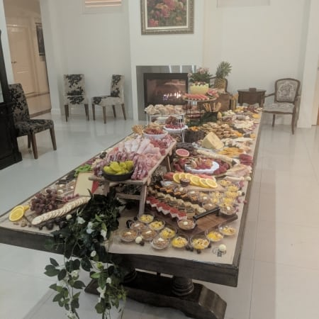 grazing table tables brisbane feast antipasto board