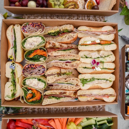 Individual Mixed Gourmet Sandwiches