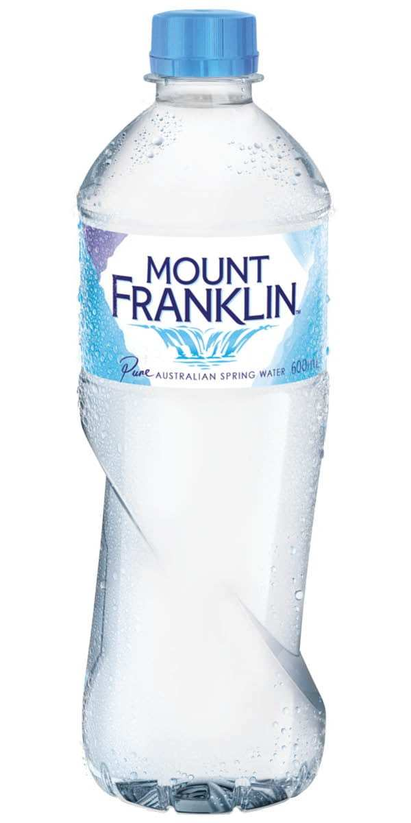 Water - Mt Franklin Sparkling (330ml PET)